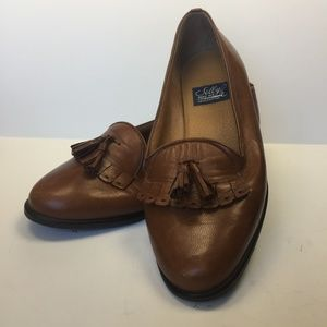 SELBY Moc Fit Handcrafted Activeflex Cognac Loafer
